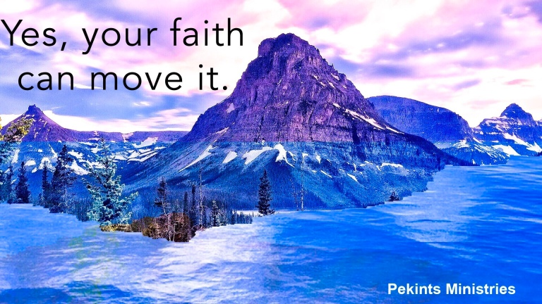 Faith that moves mountain and brings miracles